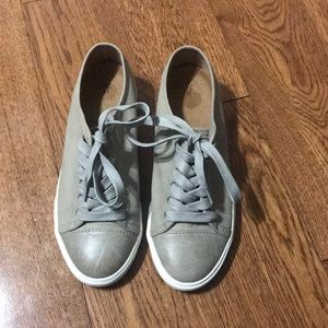 Frye Mindy Women Leather Low Top Sneakers Size 7.5